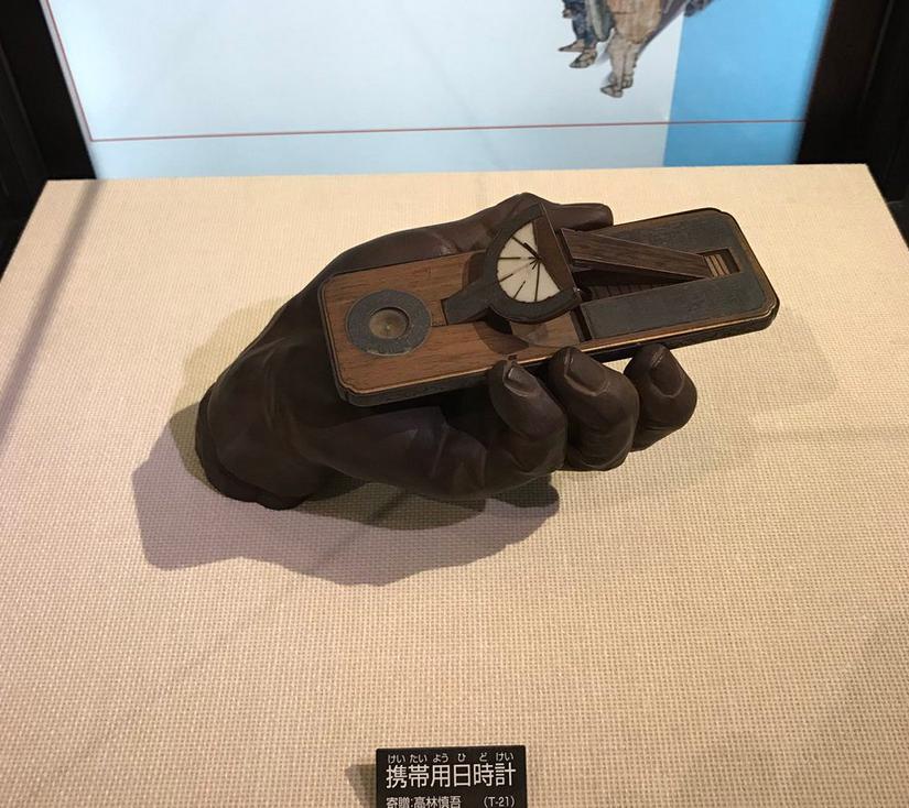 江戸時代の日時計のスマホ感がすごい