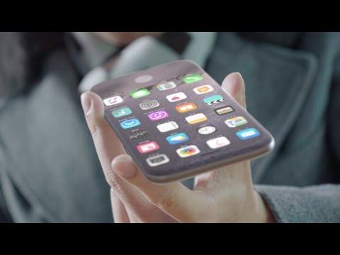 iPhone8のコンセプト動画、無線充電だけでも・・・