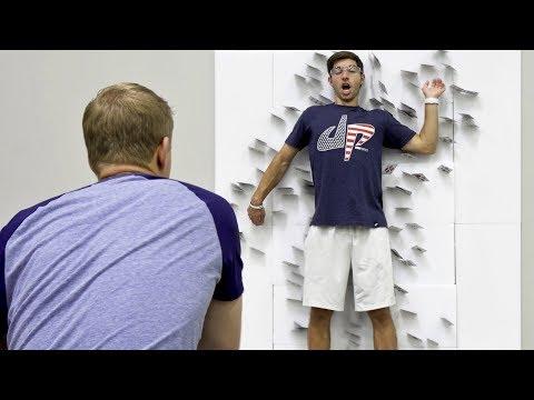 トランプ投げを極めた男
