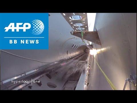 最高速1200km/hのハイパーループ、試験走行で成功!