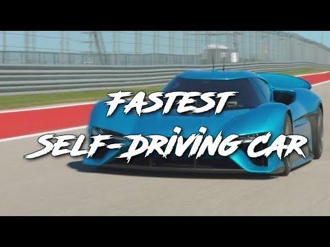 未来のレースの形、電動カーに自動運転