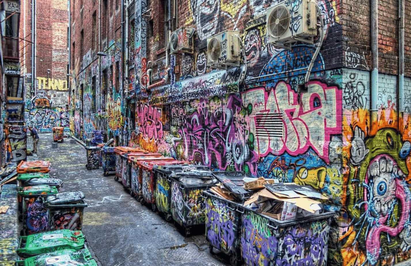 メルボルンの落書きストリートがインスタ映えすぎる!