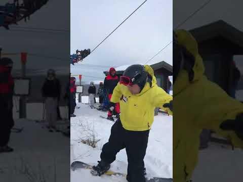 スノーボード初心者には厳しすぎるリフト