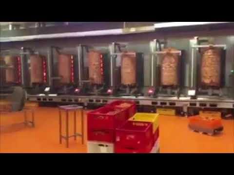 ケバブ製造工場