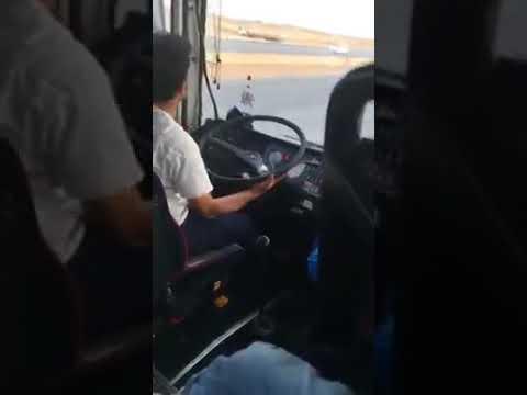 バスでこんな運転手と出会ったら不安しかない・・・
