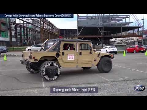 走りながらトランスフォームするタイヤをDARPAが開発!