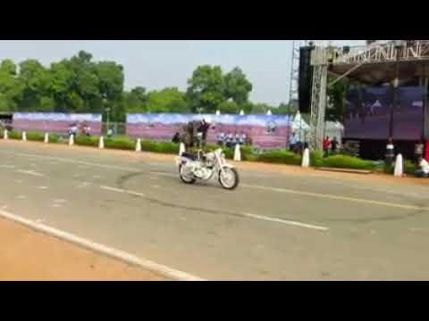 独立記念日のインド軍パレード
