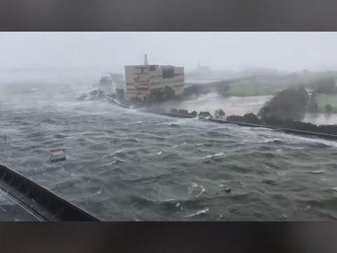 今年地球最大の勢いの台風21号さん まとめ動画