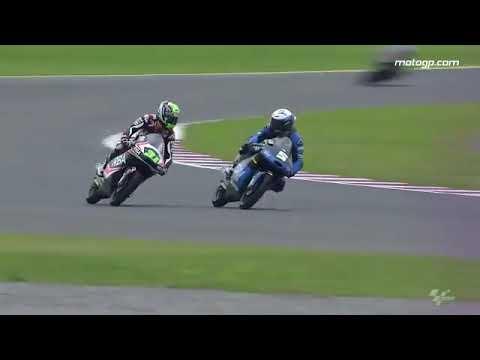 Moto2クラス決勝でとんでもない行為、これは許されない!!