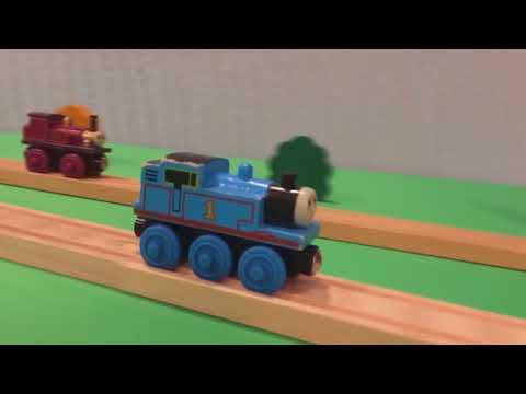 機関車トーマス、スタント走行に挑戦する