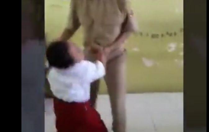 予防注射を嫌がる子供の反撃ワロタw