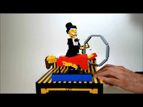 空中浮遊マジックをレゴで表現