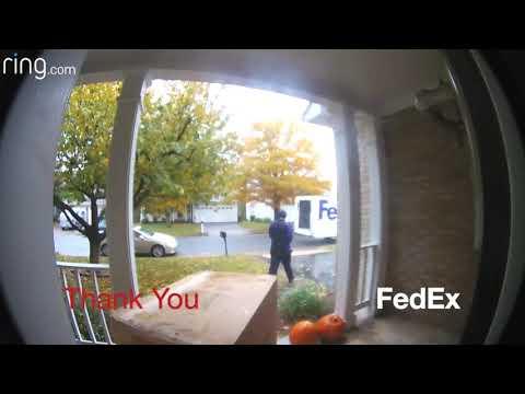 サンキュー、FedEx!