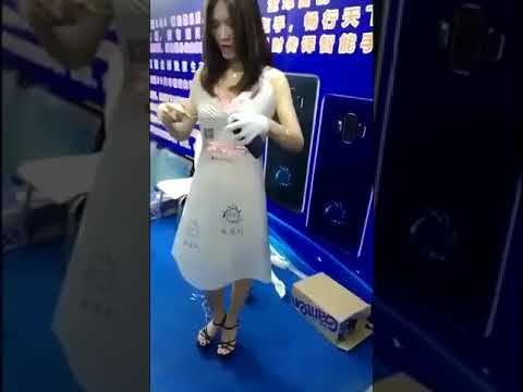 中国の企業が開発したスケスケになるワンピース