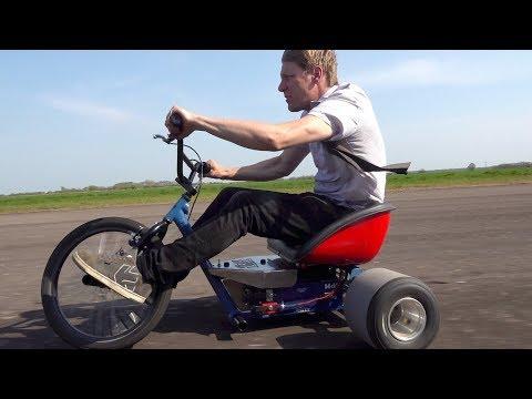 電動三輪車でドリフト!これは楽しそう!