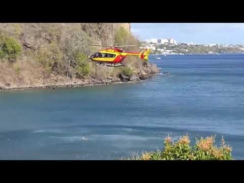 救助作業中のヘリにありえないトラブル発生