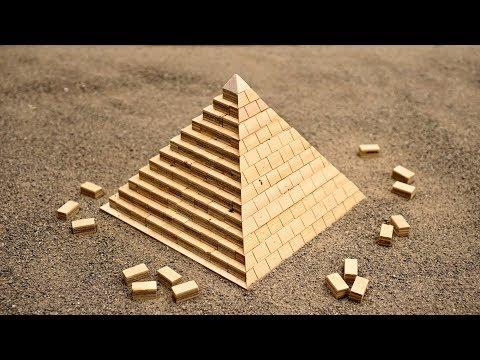 古代エジプト人はこうやってピラミッドを作った!?ミニチュアで解説