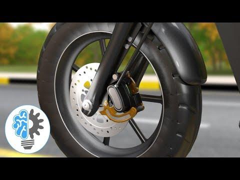 ブレーキの仕組みがよく分かる勉強動画