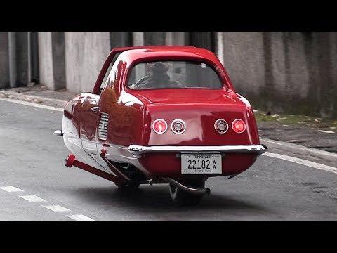 1967年発売!?自分でバランスをとる二輪自動車が凄い!