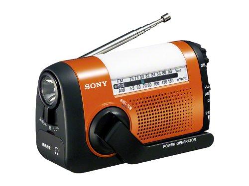 スマホも充電出来るソニーの手回しラジオ、Amazonで予約開始!