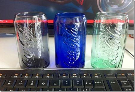 マクドナルドでCoke glassキャンペーンやってます!