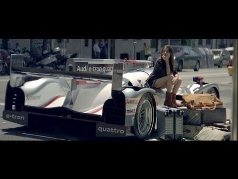 ルマン優勝車を普段乗りしてみたCM