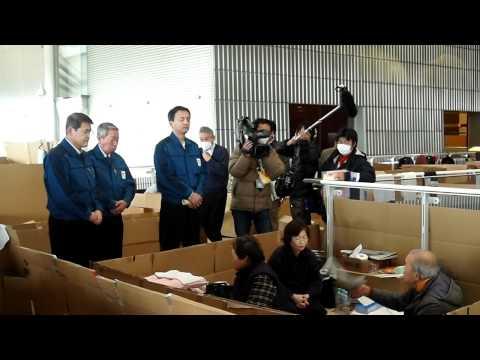 【動画】原発避難者の声を聞き流している東電の副社長たち