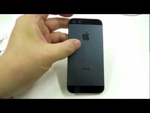 動画で見る流出パーツを集めて作ったiPhone5