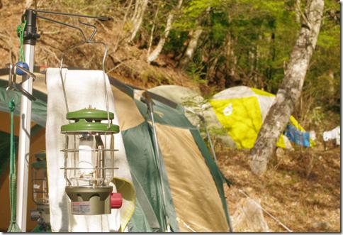 今年1発目のキャンプ! 道志村へGo!