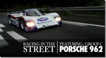 レーシングカー・ポルシェ962とファミマのミスマッチが凄すぎる!