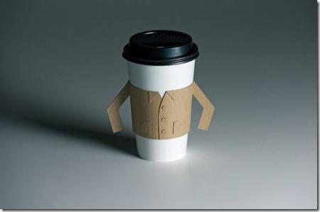 ちょっと変態風なコーヒーカップスリーブ