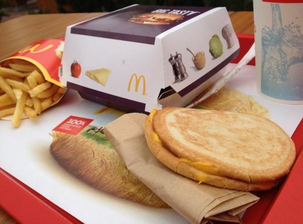マックトーストの理想と現実、クソワロタ