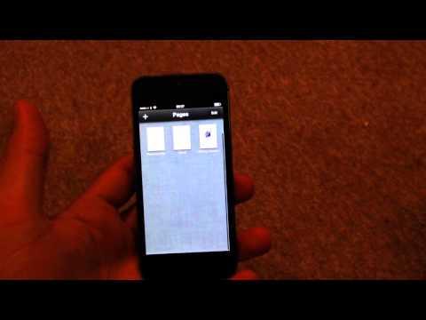 iPhone5sでブルースクリーン。これ以外にもアプリクラッシュも多発するとか・・・