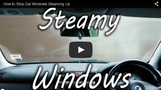朝一の車窓の曇りを防止する簡単な方法