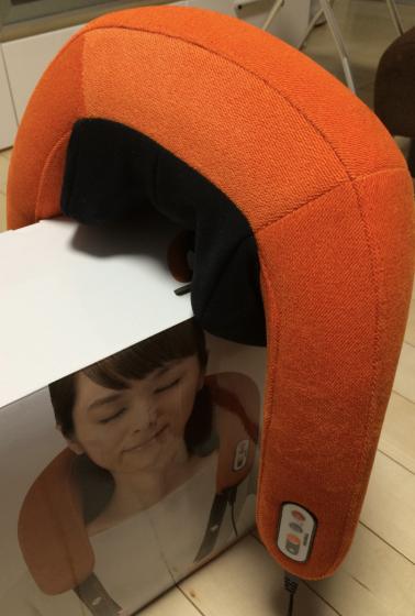 最近、首と肩がこるのでTHRIVEのマッサージャーを買ってみた