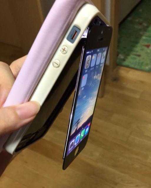 私のiPhoneが今までにない壊れ方したwww