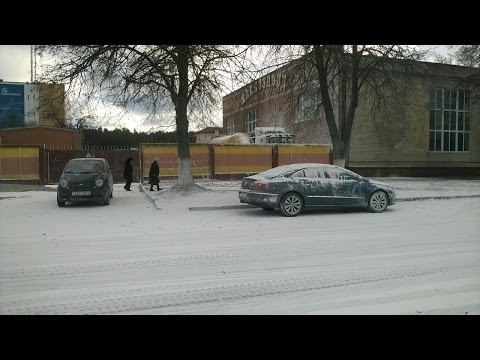 ロシアで粉雪が降る・・・ん???