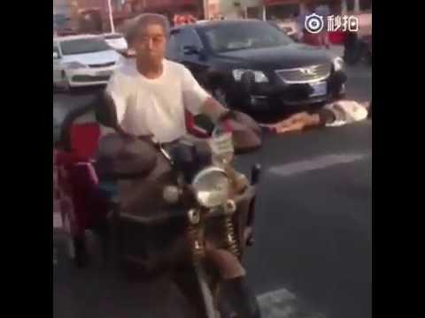 中国で当たり屋の進化形、ひかれ屋が登場!! 信号待ちでも油断できず!