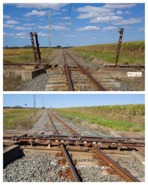 線路を低予算で無理矢理立体交差