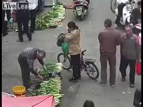 中国では買い物中も気を抜けない