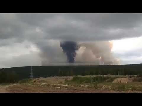 [動画] ロシア軍施設で大爆発!!衝撃がハンパない!!