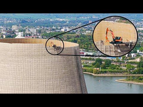 原発冷却塔の破壊方法