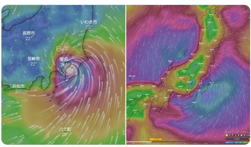 千葉に大きな被害をもたらした台風15号と今回の19号との比較