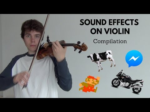 バイオリンで無限の音色を奏でてみた