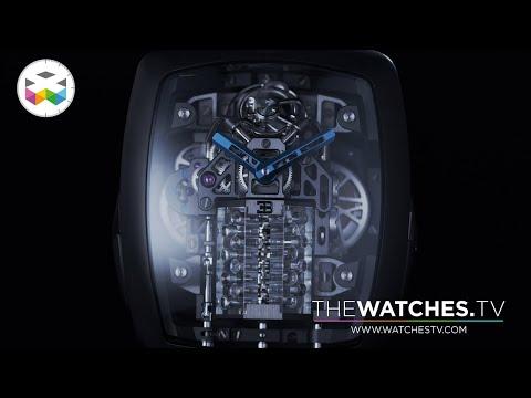 これが腕時計だと!?16個のピストンが稼働する芸術品