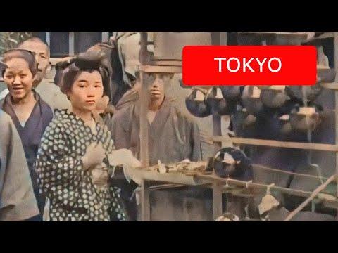 ヌルヌル動く!4K/60FPSでよみがえる100年前の東京!