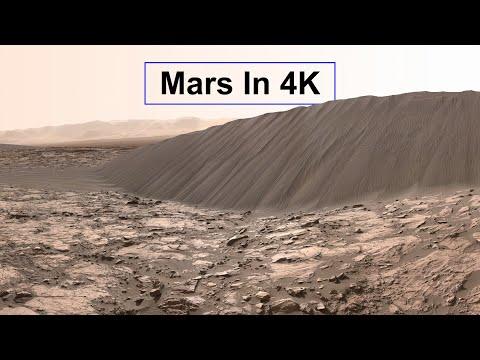 こんな時なので、4K映像で火星探索