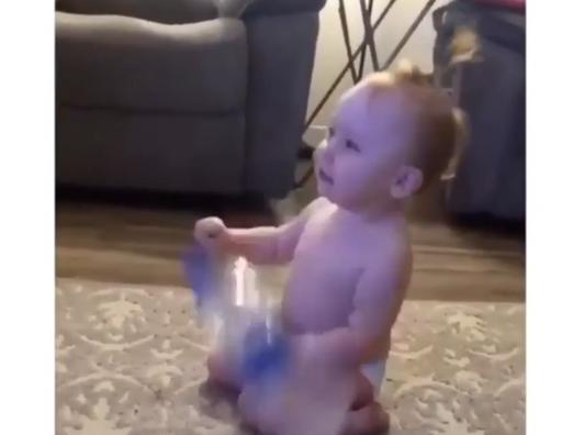 赤ちゃんのリアクションに萌える